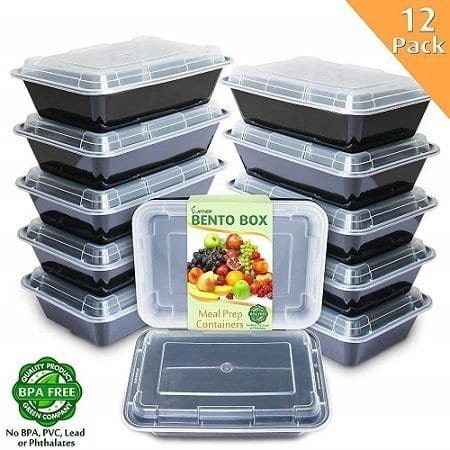 Enther 12-Pack Freezer Containers