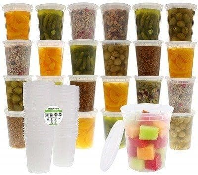 Freshware 24-Pack Containers