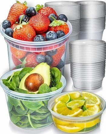 Prep Naturals Freezer Containers