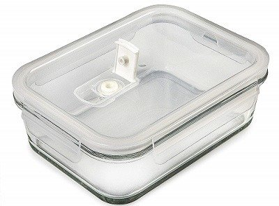 Prep Naturals Glass Freezer Container