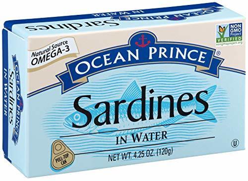 Crown Prince Sardines in Water Canned Sardine