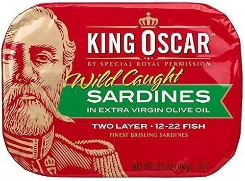 King Oscar 3480060002 Canned Sardine