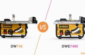 DW745 vs. DWE7480