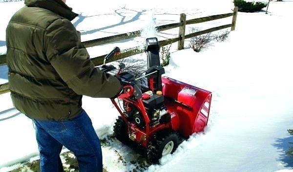 3-stage Snow Blower