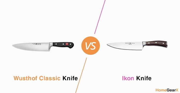 Wusthof Classic vs. Ikon