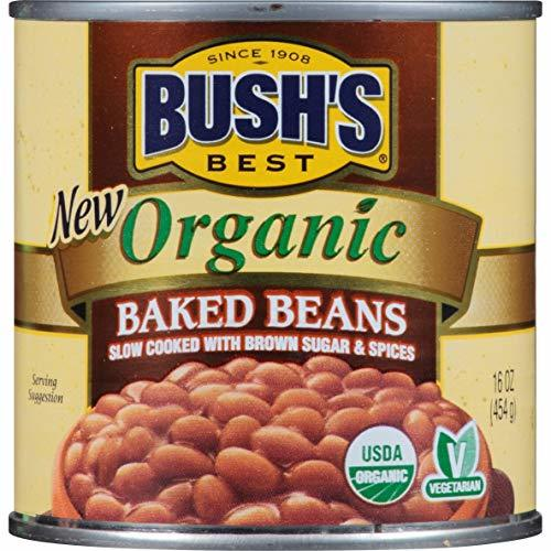 Bush's Best Organic Canned Baked Beans