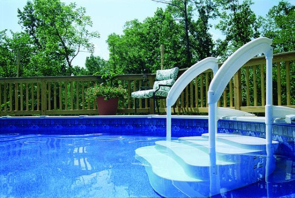 How to Buy the Best Above-Ground Pool Ladder