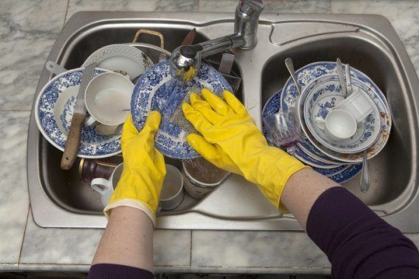 gloves for dishwashing