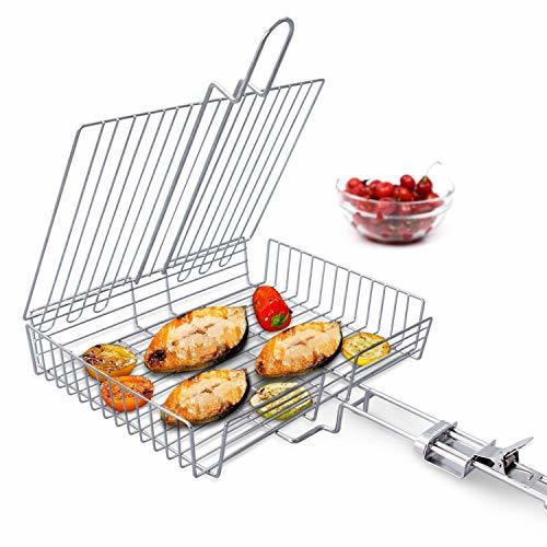 WolfWise Portable 430 Grilling Basket