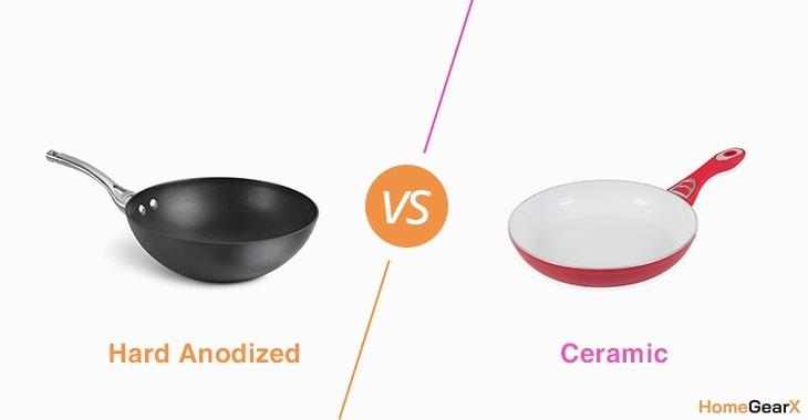 Hard Anodized vs. Ceramic