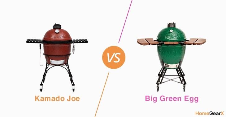 Kamado Joe vs. Big Green Egg