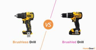 Brushless vs. Brushed Drill