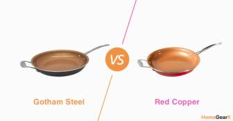 Gotham Steel vs. Red Copper