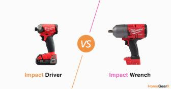 Impact Driver vs. Impact Wrench