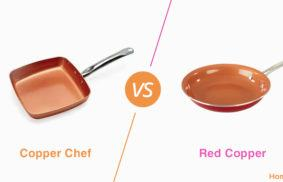 Copper Chef vs. Red Copper