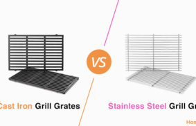 Cast Iron vs. Stainless Steel Grill