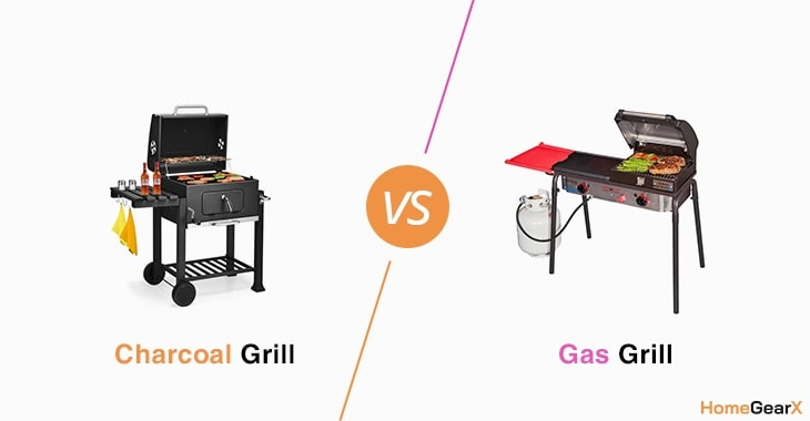Charcoal vs. Gas Grill