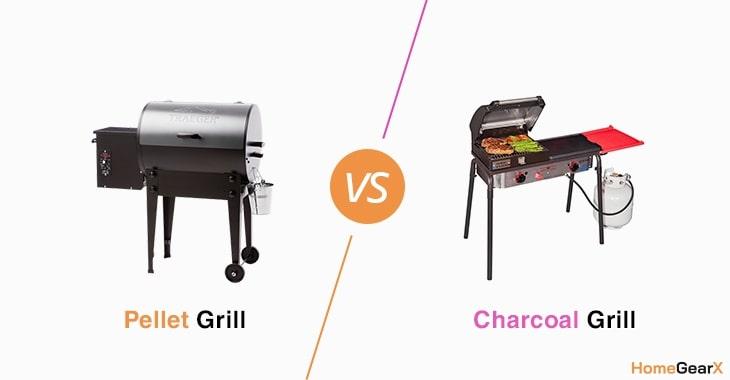 Pellet Grill vs. Charcoal Grill