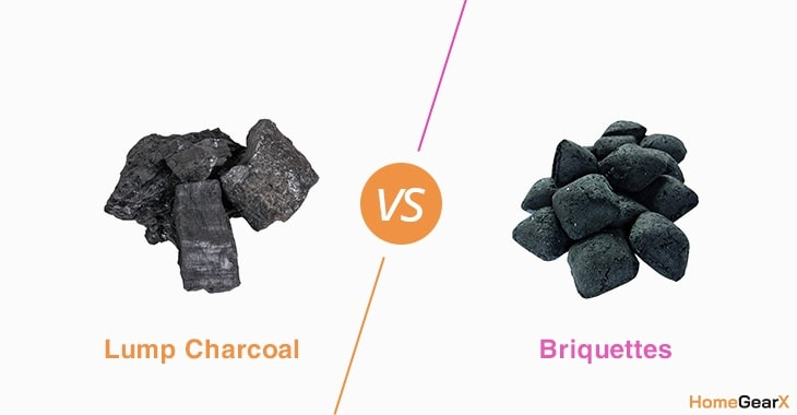 Lump Charcoal vs. Briquettes