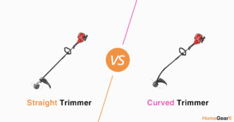 Straight vs. Curved Trimmer