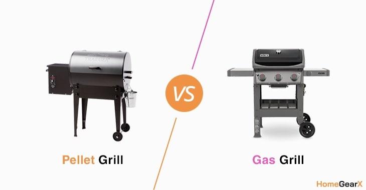 Pellet Grill vs. Gas Grill
