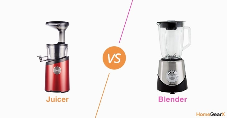 Juicer vs. Blender