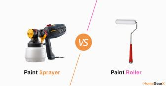 Paint Sprayer vs. Roller