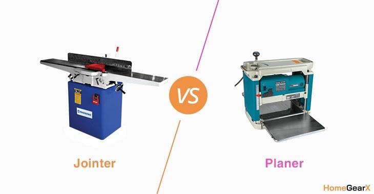 Jointer vs. Planer