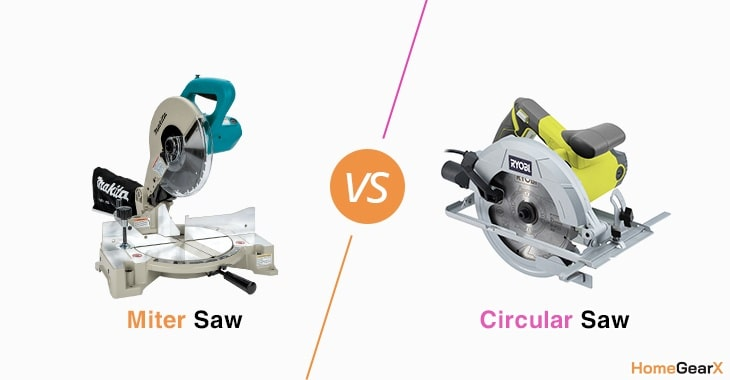 Miter Saw vs. Circular Saw