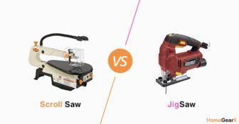 Scroll Saw vs. Jigsaw