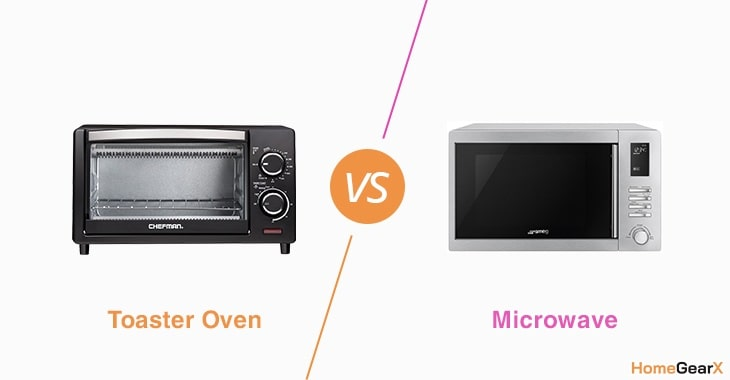 Toaster Oven vs. Microwave