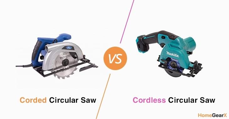 Corded vs. Cordless Circular Saw