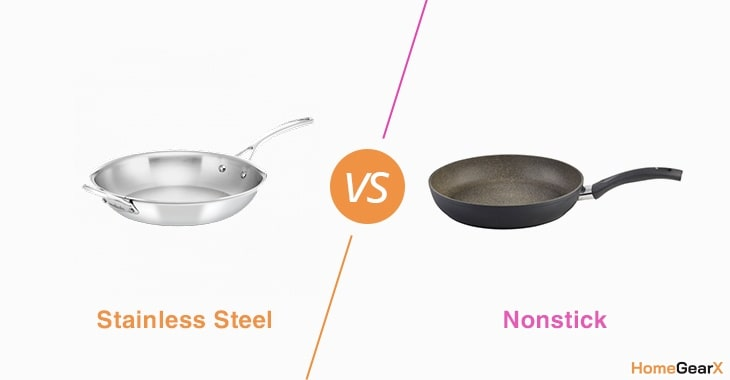 Stainless Steel vs. Nonstick