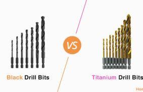 Black Oxide vs. Titanium Drill Bits