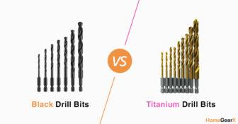 Black Oxide vs. Titanium Drill Bits