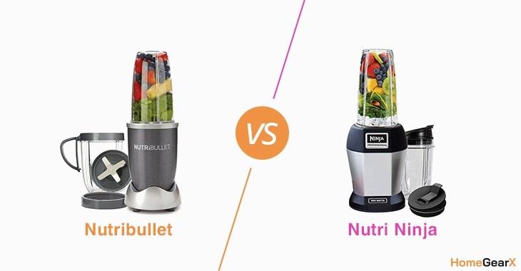 Nutribullet vs. Nutri Ninja