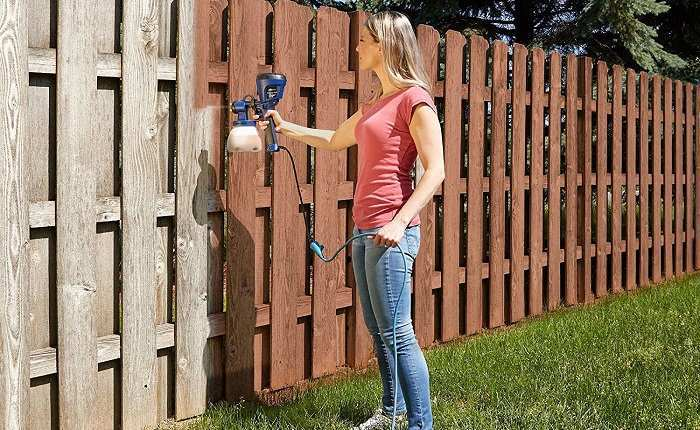 Best Sprayer for Staining a Fence