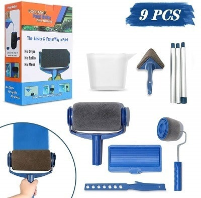 Gochange Paint Roller Brush Kit