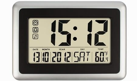 Hippih Digital Calendar Wall Clock