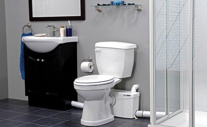 macerator toilet system