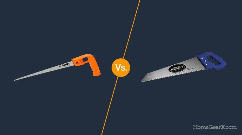 Crosscut vs. Rip Saw