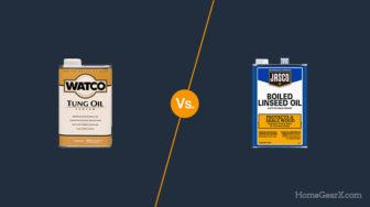 Tung Oil vs. Linseed Oil