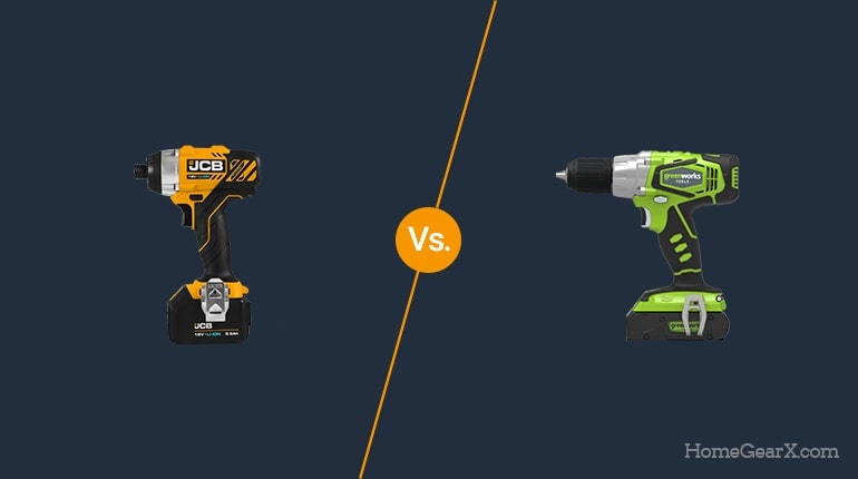 Impact Driver vs. Drill