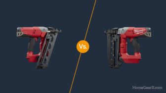 Angled vs. Straight Finish Nailer