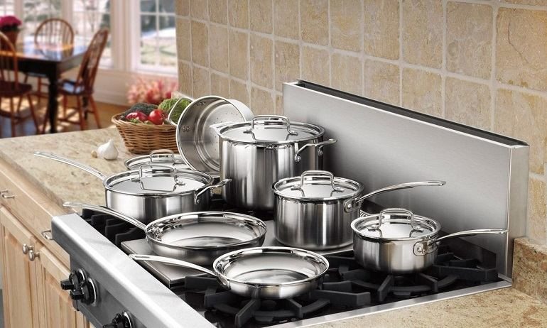 Stainless-Steel Cookware