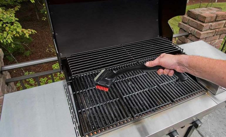 Cast Iron Grill Grates Care