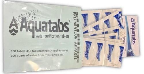 Aquatabs AQT100