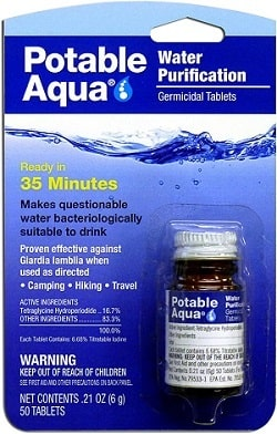 Potable Aqua 301