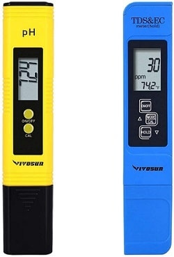 VivoSun pH and TDS Meter Combo