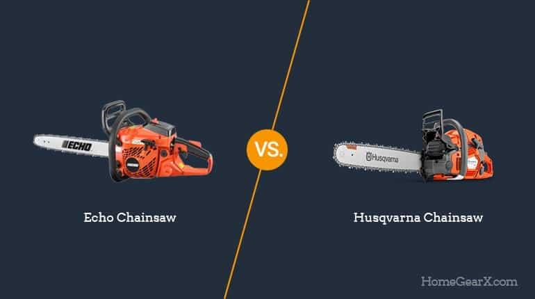 Echo vs. Husqvarna Chainsaw
